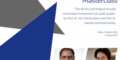 "Online FAR Masterclass by prof. Ann Vanstraelen and prof. Ganesh Krishnamoorthy on ""The drivers and impact of audit committee involvement on audit quality"""