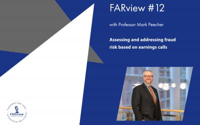 FARview #12 with professor Mark Peecher